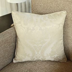 Modern Floral Decorative Pillow Cases in White