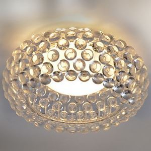 Modern Flush Mount in Elegant Round Shade