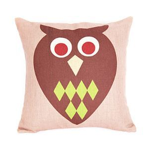 Modern Owl Patterned Decorative Pillow Cases