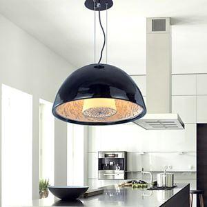 Modern Pendant Light in Black Lampshade Black Chandelier