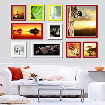 Modern Photo Wall Frame Collection-Set of 10 PM -10A a