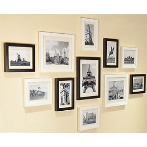 Modern Photo Wall Frame set Collection-Set of 11 PM-11B c
