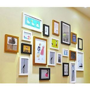 Modern Photo Wall Frame set Collection-Set of 20 PM-20D c