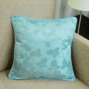 Modern Style Floral Decorative Pillow Cover ZS008
