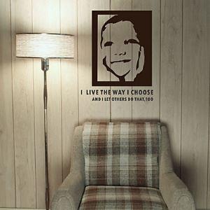 Naïve Smile Wall Stickers (1985-D23)