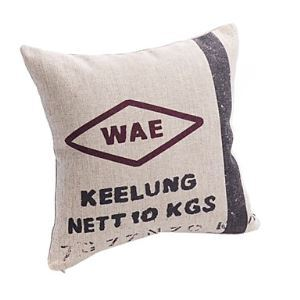Novelty Sign Print Decorative Pillow Cases