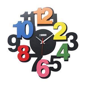Numerals Mute Wall Clock