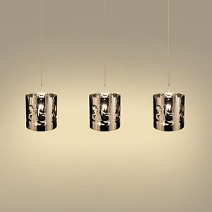 Pendant Light with 3 Lights in Steel