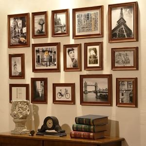 Photo Wall Frame set Collection-Set of 15 FZ-015(Pictures Not Included)
