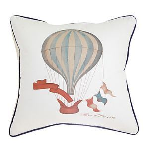 Print Hot-Air Balloon Decorative Pillow Cases
