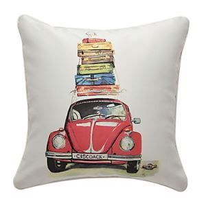 Print Modern Vehicle Decorative Pillow Cases
