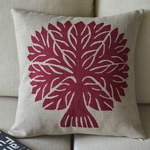 Trees Cotton Decorative Pillow Cases for Christmas Holiday Decor Christmas Pillow Christmas Gifts
