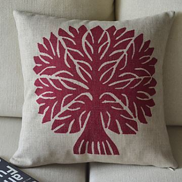 Christmas Decorative Pillow Cases : Gifts - Christmas Supplies - Trees Cotton Decorative Pillow Cases for Christmas Holiday Decor ...
