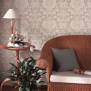Retro Damask PVC Wall Paper 1301-0028