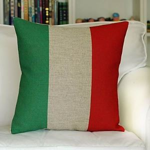 Italy Cotton Decorative Pillow Cover