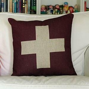 Swissland Cotton Decorative Pillow Cases