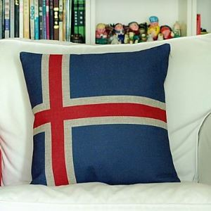 Iceland Cotton Decorative Pillow Cases