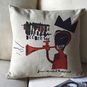 Cartoon Cotton Decorative Pillow Cases