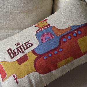 The Bettles Cotton Decorative Pillow Cases