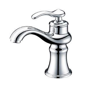 Single Handle Bathroom Sink Faucet(Chrome Finish)