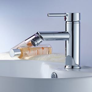 Modern Brass Bidet Faucet - Chrome Finish