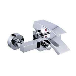 Contemporary Waterfall Tub Faucet (without Hand Shower)