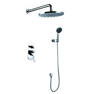 Single Handle Chrome Wall-mount Shower Faucet 0609-1385100