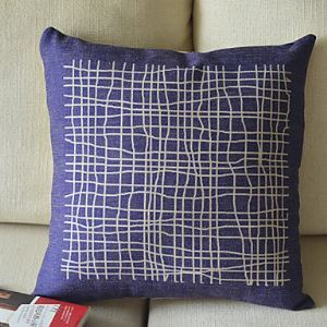 Sketchy Line Cotton Decorative Pillow Cases