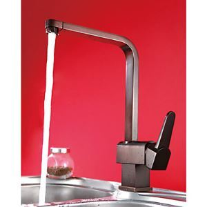 Solid Brass Antique Copper Finish Kitchen Faucet