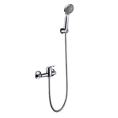 Faucets Shower Faucets Solid Brass Tub Shower Faucet With A Grade ABS Han