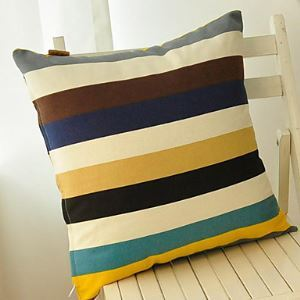 Spirit Of Color Cotton Decorative Pillow Cover