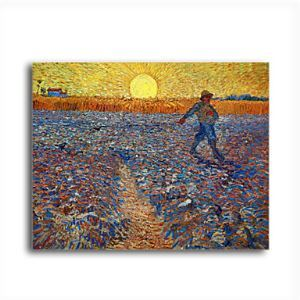 Hand-painted Oil Painting The Sower,c.1888 by Vincent Van Gogh without Frame