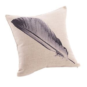 Stylish Leather Print Decorative Pillow Cover