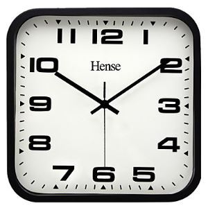Stylish Square Wall Clock in Metal