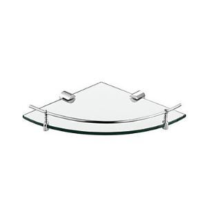Chrome Finish Bathroom Glass Brackets