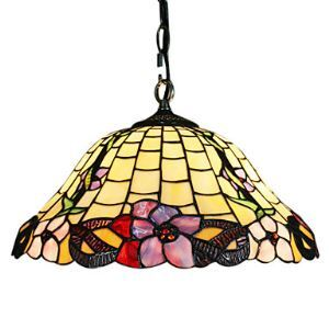 Tiffany 2 - Light Pendent Lights in Flower Pattern