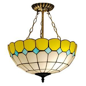 Tiffany Pendant Light with 2 Lights