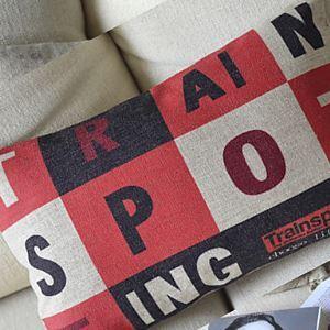 Trainspotting Cotton Decorative Pillow Cover1