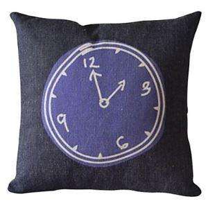 Two O'clock Cotton/Linen Decorative Pillow Cases 024