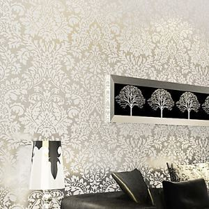 Venus Classical Damask European Wallpaper