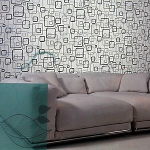 Venus Contemporary Fashion Geometric Lattice Wallpaper 5 Colors