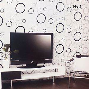 Venus Contemporary Geometric Circle Wallpaper
