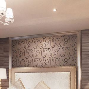 Venus Contemporary Geometric Simple Abstract Wallpaper 9 Colors