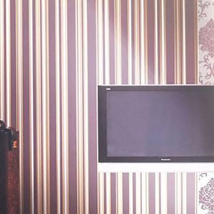 Venus Contemporary Stripe Geometric Wallpaper 7 Colors