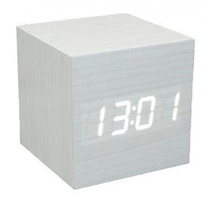 Voice Control LED Cube Led Alarm Clock