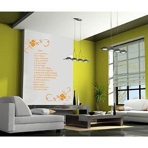 Wall Sticker - Love IS (0565 - gz051)