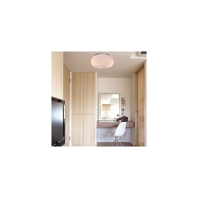 Warm White Ceiling Light with 3 Lights