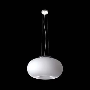 White Pendant Light with 3 Lights