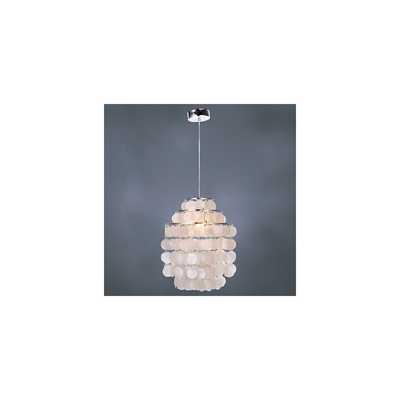 White shell chandelier white shell chandelier img3 aloadofball Images