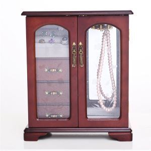 Cabby Jewelry Box in Cherry finish